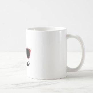 Hippie avec les nuances rouges mug