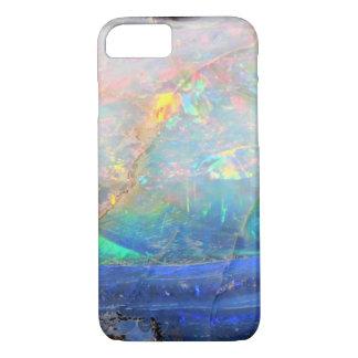 Hippie bling minéral de bokeh de pierre gemme coque iPhone 7