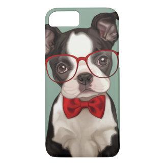 Hippie Boston Terrier Coque iPhone 8/7