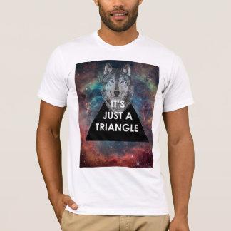 """Hippie """"c'est T-shirt juste d'une triangle"""""""