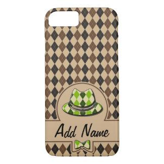 Hippie de plaid personnalisable coque iPhone 7