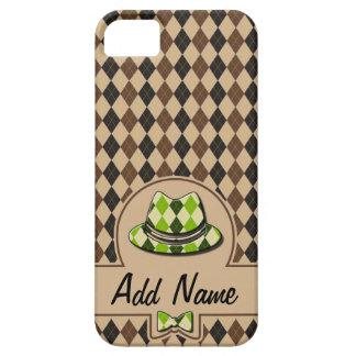 Hippie de plaid personnalisable étuis iPhone 5