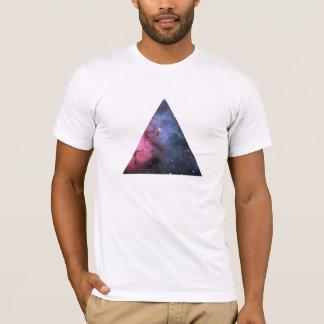Hippie de T-shirt de triangle de nébuleuse de