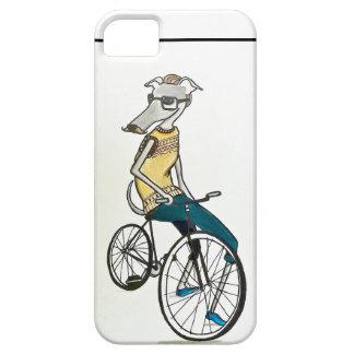 Hippie de whippet (vélo) coques Case-Mate iPhone 5