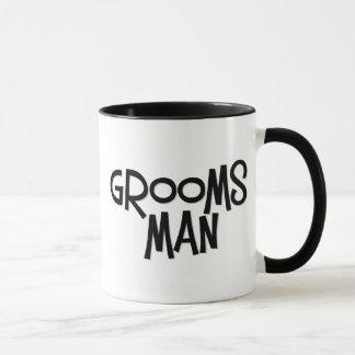 Hippie Groomsman Mugs