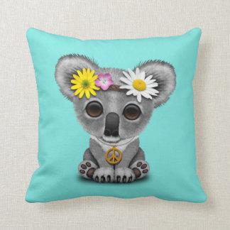 Hippie mignonne de koala de bébé coussin