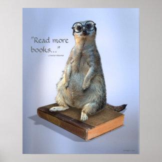 Hippie ringard Meerkat, citations Affiches