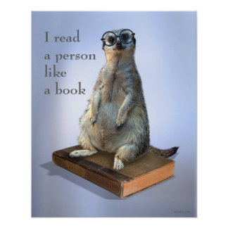 Hippie ringard Meerkat, citations Posters