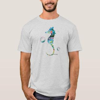 Hippocampe avec des bulles t-shirt