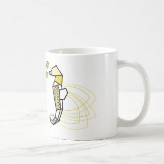 Hippocampe origami mug