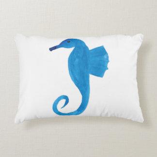 Hippocampe très bleu coussins décoratifs