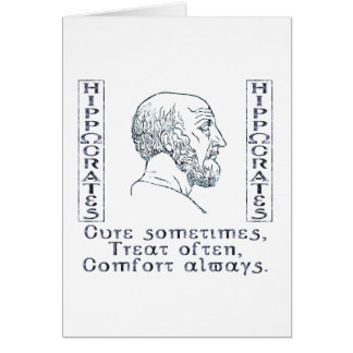 Hippocrate Carte De Vœux