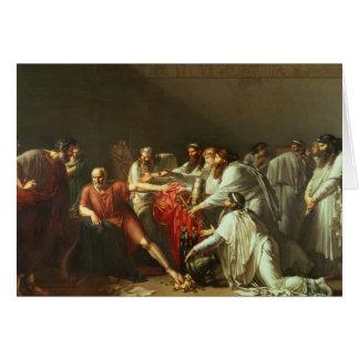 Hippocrate refusant les cadeaux d'Artaxerxes I Carte De Vœux