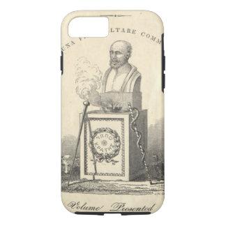 Hippocrate sur le piédestal coque iPhone 7