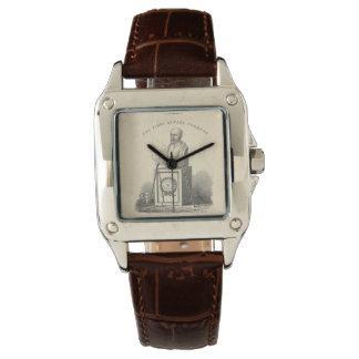 Hippocrate sur le piédestal montres
