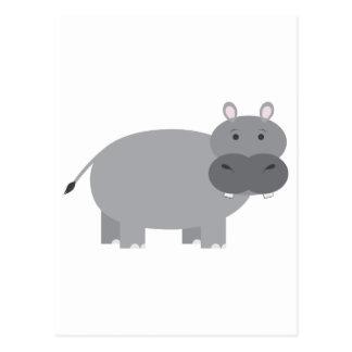Hippopotame Carte Postale
