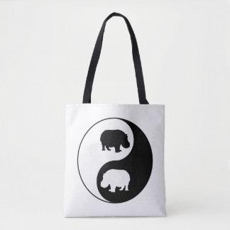 Hippopotame de yang de Ying Sac