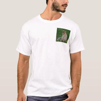Hippopotame et singe t-shirt