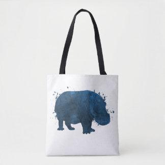 Hippopotame/hippopotame Tote Bag
