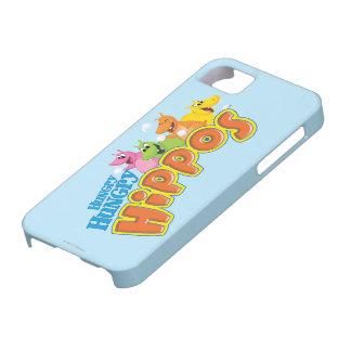 Hippopotames affamés affamés coque barely there iPhone 5