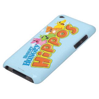 Hippopotames affamés affamés coque iPod touch