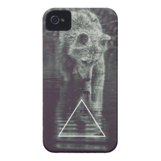 hipster loup coques iPhone 4