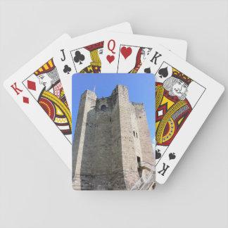Histoire britannique - cartes de jeu de château cartes à jouer