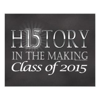 Histoire dans la fabrication, classe de prospectus 11,4 cm x 14,2 cm