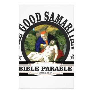 histoire de bible de gs papier à lettre personnalisable