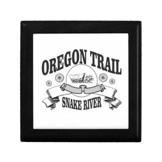histoire de la rivière Snake Idaho Boîte À Souvenirs