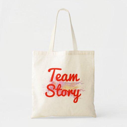 Histoire d'équipe sac en toile