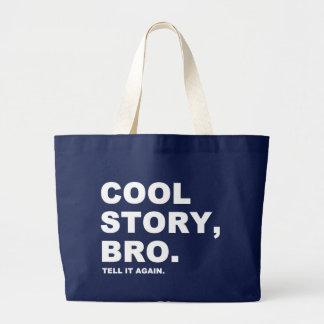 Histoire fraîche Bro Grand Tote Bag