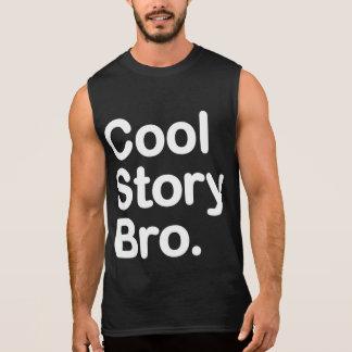 Histoire fraîche Bro. Tee-shirts Sans Manches