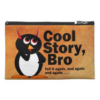 Histoire mauvaise Bro de cool de pingouin Trousses À Accessoires De Voyage