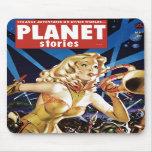 Histoires de planète - Warmaid de Mars Mousepad Tapis De Souris
