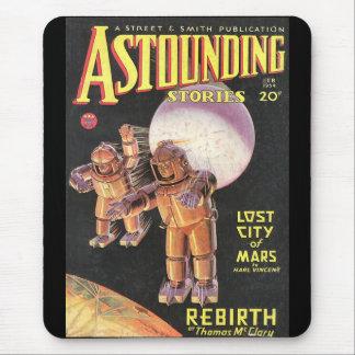 Histoires stupéfiantes comiques vintages 1934 de tapis de souris
