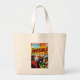 Histoires supérieures - l homme invisible sac en toile