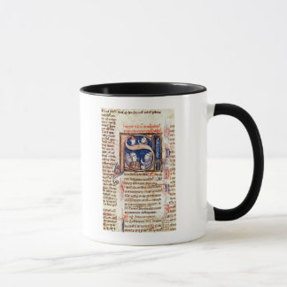 """Historiated parafent """"S"""" dépeignant pape Gregory Mug"""