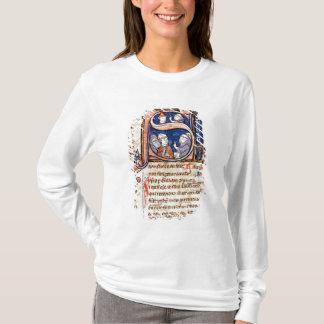 "Historiated parafent ""S"" dépeignant pape Gregory T-shirt"