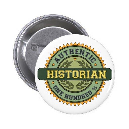 Historien authentique pin's avec agrafe