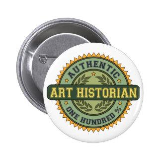 Historien d'art authentique badges