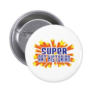Historien d'art superbe badge