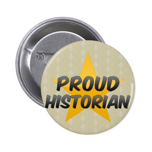 Historien fier badge