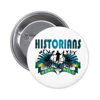 Historiens fous badges avec agrafe
