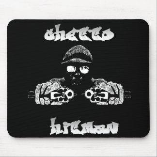 Hitman Mousepad de ghetto Tapis De Souris