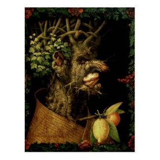 Hiver, 1573 carte postale