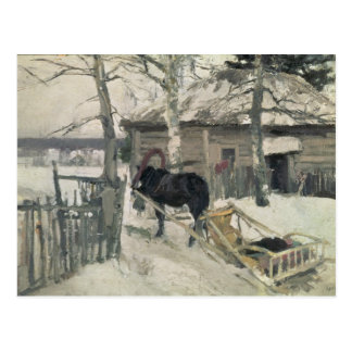 Hiver, 1894 carte postale