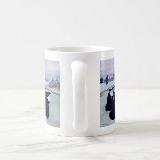 Hiver au couvent mug