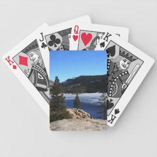 Hiver au lac Pinecrest Jeu De Poker
