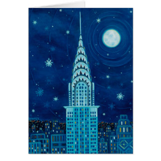 Hiver dans la carte de New York City
